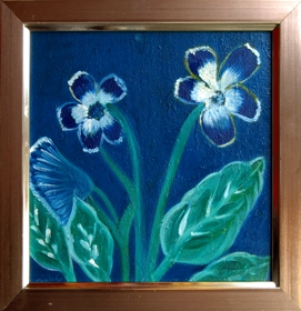 Floral on Canvas-5